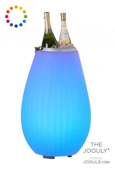 The JOOULY 50 M Bluetooth Lampe mit Lautsprecher und Getränke Kühler