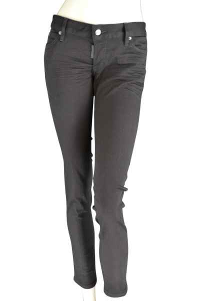 Dsquared2 JENNIFER JEAN Jeans uni schwarz