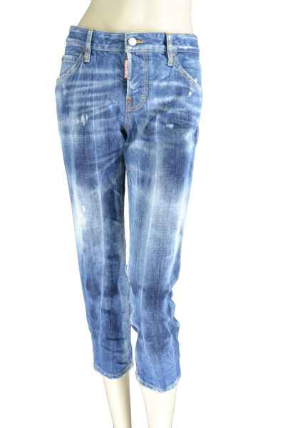 Cool Girl Cropped Jean Jeans Waschung